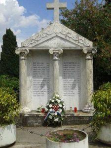 Lipanjske žrtve, Vrgorac, Blanka Matković
