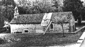 Oštećena crkva Gospe od Pohođenja u Spinutu, Izvor: Slobodna Dalmacija