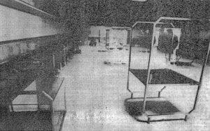 Fotografija unutrašnjosti zgrade SP Jasenovac