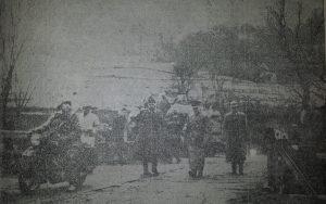 Ante Pavelić na putu prema Lepoglavi