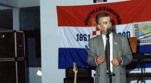 Alija Šiljak u Ljubuškom 1991.