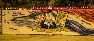 Mural u Splitu, Photo: Urbana desnica