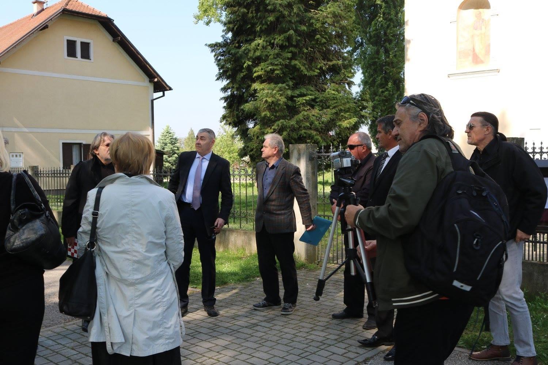 General Željko Glasnović, Stipo Pilić i ostali uzvanici
