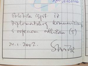 """Rukopis """"jasenovačke dječje žrtve"""" Stanka Nicka u indeksu Blanke Matković"""