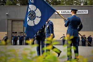 Zastava finskih zračnih snaga
