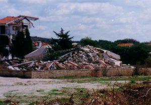 2.Srušena crkva u Škabrnji