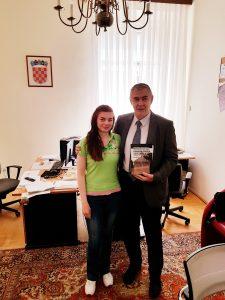 Blanka Matković i Željko Glasnović u Hrvatskom saboru 3.5.2018.