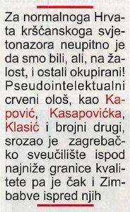 Antun Mateš, Hrvatski tjednik, 17.5.2018.